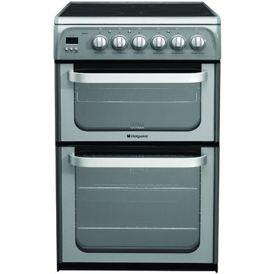 Hotpoint HUE52GS 50cm wide Electric Cooker in Graphite - 5016108810149
