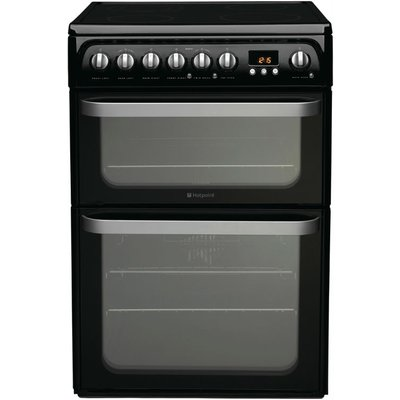 Hotpoint Electric Cooker with Ceramic Hob  HUE61K S - 5016108810217