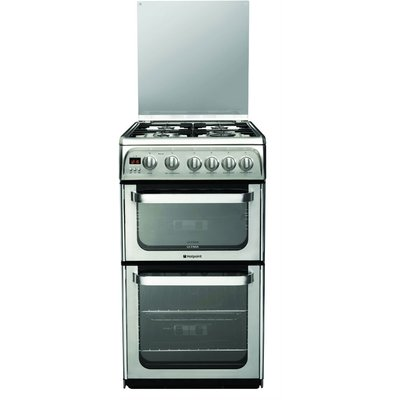 Hotpoint Ultima HUG52X Gas Cooker  Stainless Steel - 5016108630402