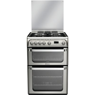 Hotpoint HUG61X Ultima Gas Cooker  Stainless Steel - 5016108624166