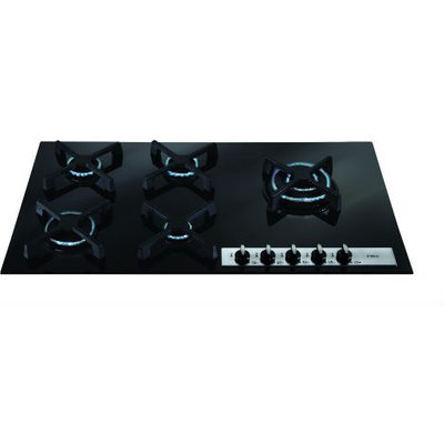 CDA HVG96BL 5 Burner Gas Hob   Black - 5060143318573
