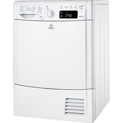 Indesit IDCE8450BH 8Kg Condenser Tumble Dryer in White