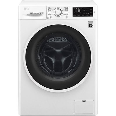 LG F4J608WN 8Kg 1400 Spin Inverter Direct Drive Washing Machine White