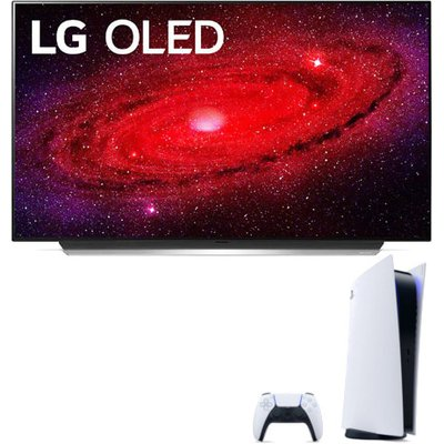 LG OLED55CX5LB 55 inch OLED 4K Ultra HD HDR Smart TV with Sony Playstation 5 Console