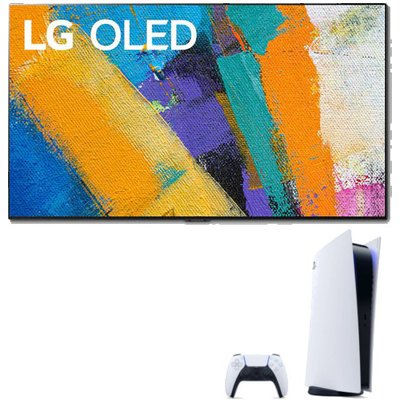 LG OLED55GX6LA 55 inch 4K Smart OLED TV with Sony Playstation 5 Console