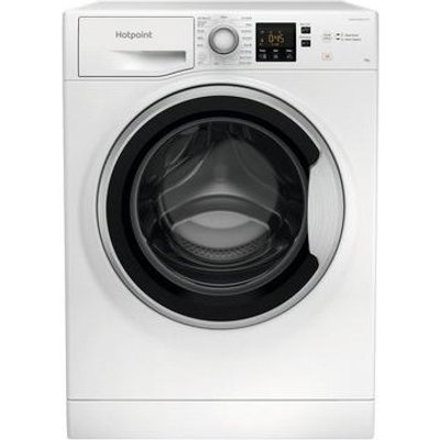 Hotpoint NSWE963CWSUKN 9kg 1600 Spin Washing Machine with Anti-Stain White