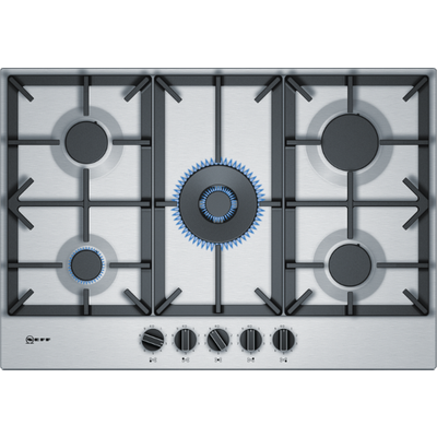 NEFF T27DS59N0 Gas Hob   Stainless Steel  Stainless Steel - 4242004203506