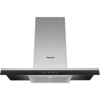 Hotpoint PHBG98LTSIX 90 cm Chimney Cooker Hood in Stainless Steel - 5016108950456