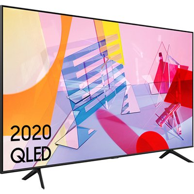 Samsung QE65Q60TAUXXU 65 Inch Q60T QLED 4K Quantum HDR Smart TV with Tizen OS 2020 Model