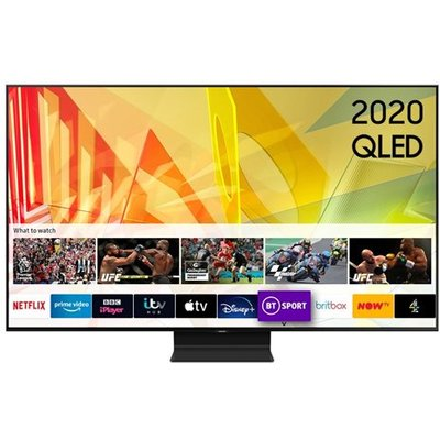 Samsung QE55Q90TATXXU 55 Inch Q90T QLED 4K HDR 2000 Smart TV with Tizen OS 2020 Model