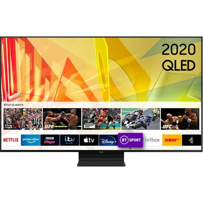 Samsung QE65Q90TATXXU 65 Inch Q90T QLED 4K HDR 2000 Smart TV with Tizen OS 2020 Model