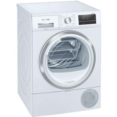 Siemens WT47RT90GB Tumble Dryer 9kg - White