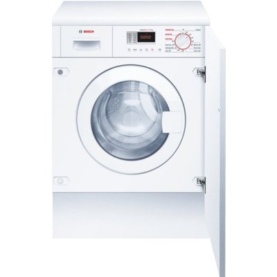 Bosch WKD28351GB Integrated Washer Dryer  7kg Wash 4kg Dry Load  B Energy Rating  1400rpm Spin  White - 4242002877440