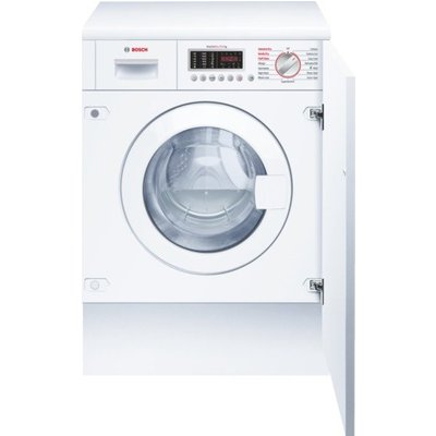 Bosch WKD28541GB Integrated Washer Dryer  7kg Wash 4kg Dry Load  B Energy Rating  1400rpm Spin - 4242002877464