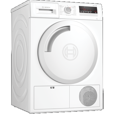 Bosch WTN83201GB Condenser Tumble Dryer 8kg in White - B Energy Rated
