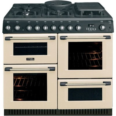 5016108809181 | Hotpoint Cannon CH10755GFS 100cm Gas Range Cooker in Cream with FSD