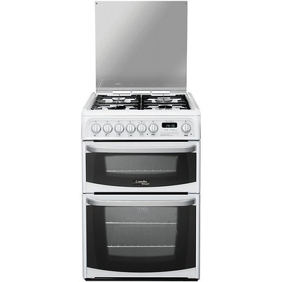 Hotpoint Cannon CH60DHWFS 60cm Dual Fuel Cooker White - 5016108810323