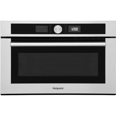 Hotpoint MD454IXH Built In Microwave With Grill in Stainless Steel - 5016108966877