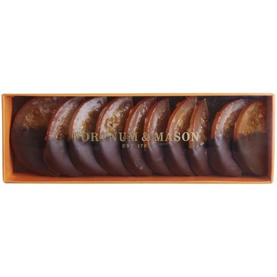 Fortnum & Mason Chocolate-Dipped Orange Slices, 140g