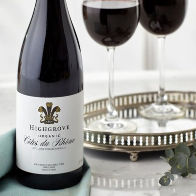 Fortnum & Mason Highgrove Organic Côtes du Rhône, 75cl