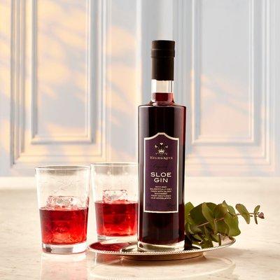 Fortnum & Mason Highgrove Organic Sloe Gin, 35cl