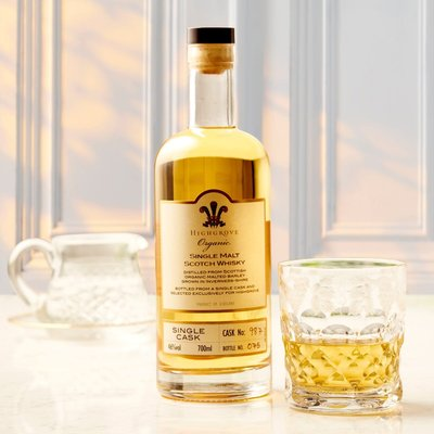 Fortnum & Mason Highgrove Organic Single Malt Whisky, 70cl