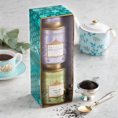 Gift Set, Fortnum's World Teas - Darjeeling Bop & Assam Superb