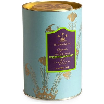 Highgrove Organic Peppermint Infusion, 20 Tea Bags