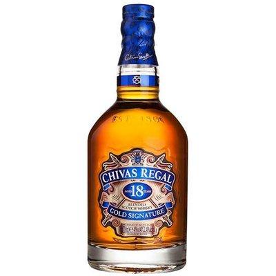 Fortnum & Mason Chivas Regal 18 Year Old Gold Signature Whisky, 70cl