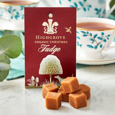 Highgrove Organic Christmas Fudge, 100G