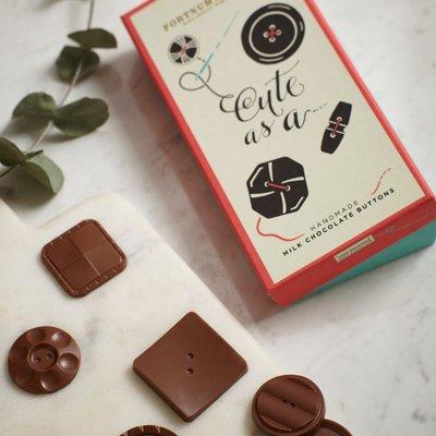 Fortnum & Mason Milk Chocolate Buttons, 140G