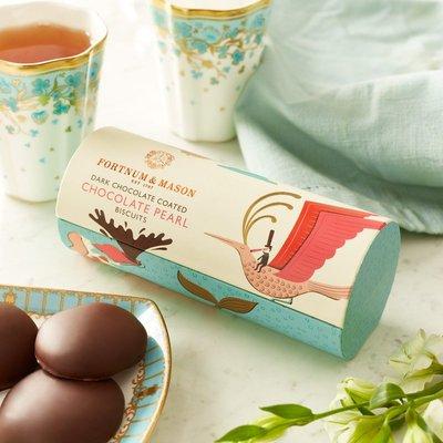 Fortnum & Mason Dark Chocolate Coated Chocolate Pearl, 190G