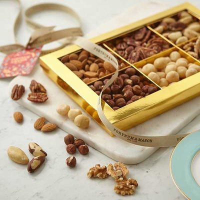 Fortnum & Mason Christmas Nut Gift Box, Vegan