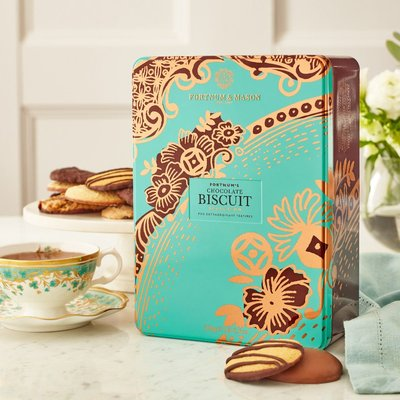 Fortnum & Mason Piccadilly Chocolate Selection Biscuit Tin, 700G