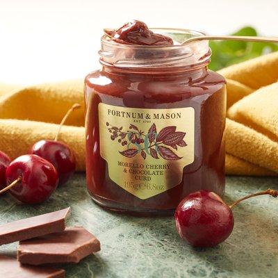 Fortnum & Mason Morello Cherry & Chocolate Curd, 195G
