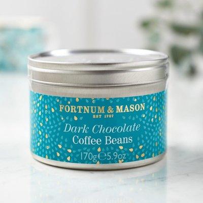 Fortnum & Mason Dark Chocolate Coated Coffee Beans, 170G