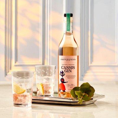Fortnum's English Cassis Gin, Harrogate Distillery, 50Cl