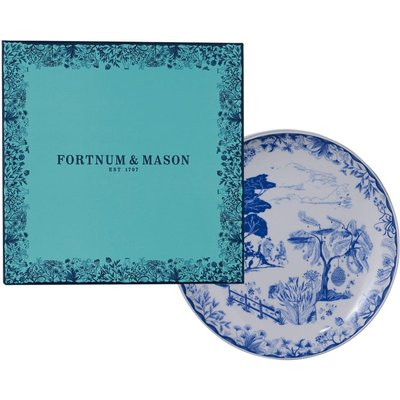 Fortnum's Willow Cheese Plates Gift Box, Set Of 4