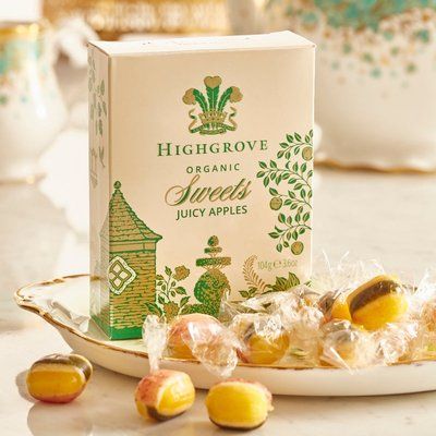 Highgrove Organic Juicy Apple Sweets