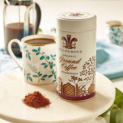 Fortnum & Mason Highgrove, Organic Ground Coffee