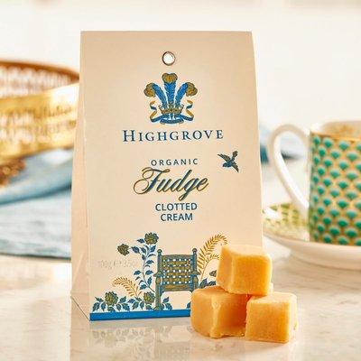 Highgrove Organic Clotted Cream Fudge Bag