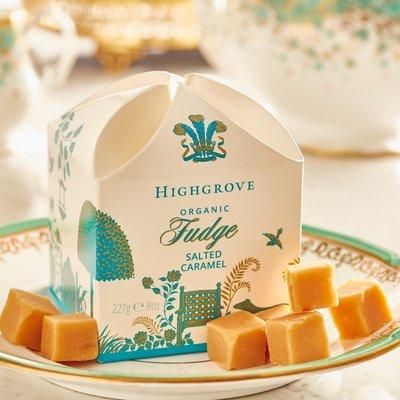 Highgrove Organic Salted Caramel Fudge