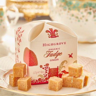 Highgrove Organic Ginger Fudge 227G