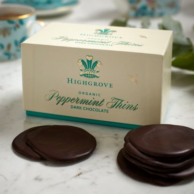 Highgrove Organic After Dinner Peppermint Thins