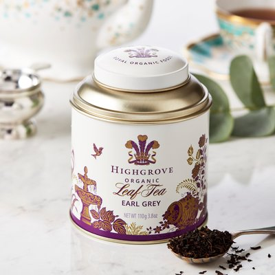 Highgrove Organic Earl Grey Tea Caddy