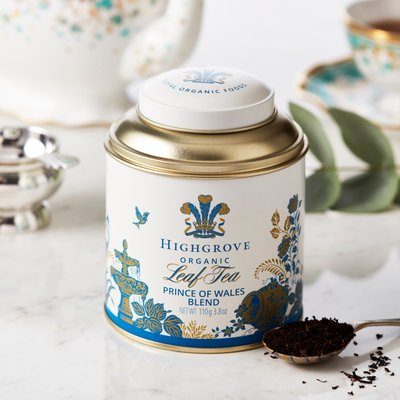 Highgrove Prince Of Wales Blend Tea Caddy