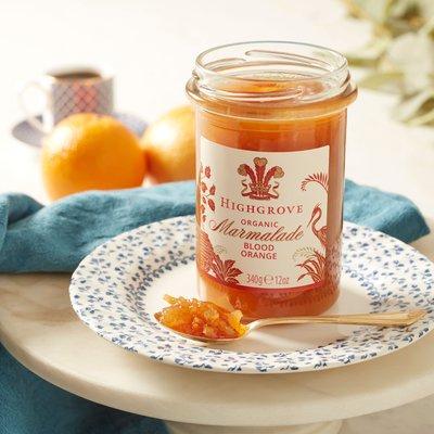 Highgrove Organic Blood Orange Marmalade, 340G
