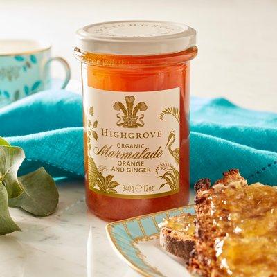 Highgrove Organic Marmalade With Ginger