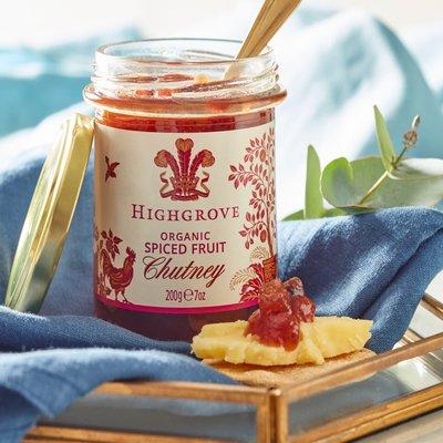 Highgrove Organic Spiced Fruit Chutney, 200G