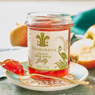 Fortnum & Mason Highgrove Organic Crab Apple Jelly, 220g